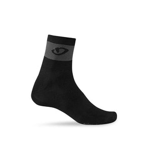 Giro Comp Racer Cycling Socks - Ankle - Black / Dark Shadow