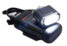 Load image into Gallery viewer, Moon X POWER 1300 Rechargeable FRONT Bike Light XP1300 - Black - LAA512