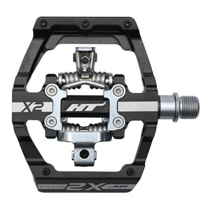 HT Components X2 - DH Clipless Pedals - Black