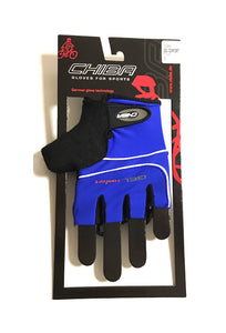 Chiba Gel Comfort Cycling Mitts - Blue