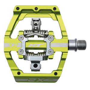 HT Components X2 - DH Clipless Pedals - Green