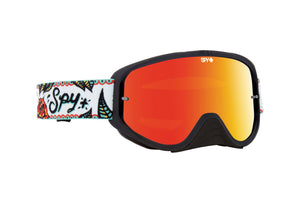 SPY Woot Race Goggle - Calaveras / Red Spectra