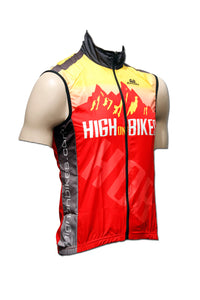 High on Bikes V1 - Sleeveless Cycling Gilet / Vest
