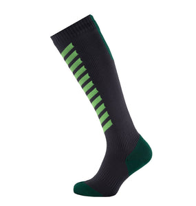 SealSkinz MTB Mid Knee - Waterproof Socks - Anth / Leaf / Lime