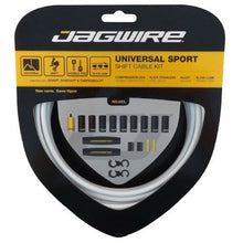 Load image into Gallery viewer, Jagwire Universal Sport Shift - Gear - Cable Set  - White