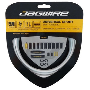 Jagwire Universal Sport Shift - Gear - Cable Set  - White