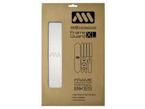 AMS Honeycomb Frame Guard - XL - White Drops