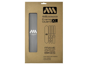 AMS Honeycomb Frame Guard - XL - Silver
