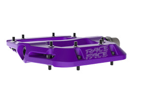 Race Face Chester Composite Flat Platform Pedals - Purple