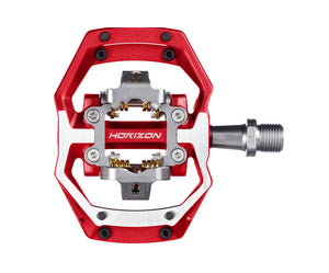 Nukeproof Horizon CS - CrMo Trail - Clipless Pedals - Red