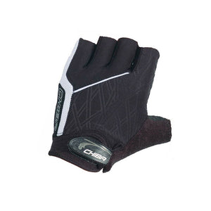 Chiba Bamboo Ladies Road Cycling Gloves / Mitts - Black