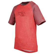 Load image into Gallery viewer, IXS Progressive 8.1 Kids Short Sleeve Jersey - Fluo Red