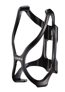 Lezyne Flow Bike / Cycle Water Bottle Cage - Black