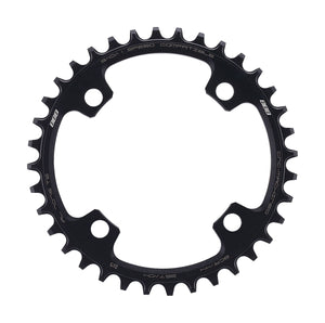 BBB MTBGear Narrow Wide Single Chainring - 104mm - BCR-44 - Black