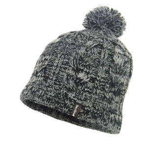 DexShell Single Pom Cable Beanie Hat - Grey