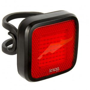 Knog Blinder MOB Mr Chips Rear Bike Light - Black