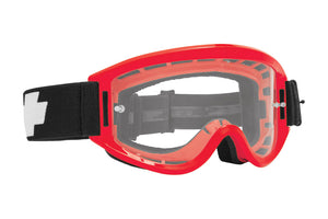 SPY MX Breakaway Goggle - Red / Clear
