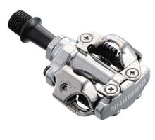 Load image into Gallery viewer, Shimano PD M540 SPD Clipless MTB Pedals & Cleats - Silver