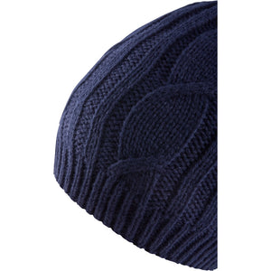 SealSkinz Cable Knit Waterproof / Windproof Beanie Hat - Blue