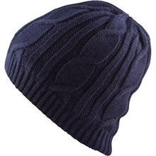 Load image into Gallery viewer, SealSkinz Cable Knit Waterproof / Windproof Beanie Hat - Blue