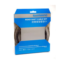 Load image into Gallery viewer, Shimano Road Bike PTFE Gear Cable Set - Grey
