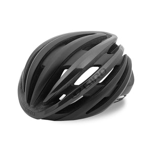 Giro Cinder Road Cycling Helmet - Matt Black / Charcoal