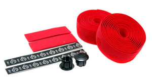 Cinelli Cork Bike Handlebar Tape - Red