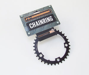 FS Hardware Road Bike Alloy Chainring - 34T - 9/10 speed - 110mm