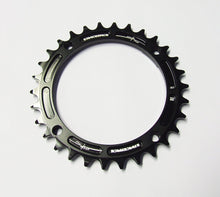 Load image into Gallery viewer, Race Face Narrow Wide Single Chainring - 104mm - Black - 30t