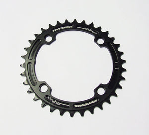 Race Face Narrow Wide Single Chainring - 104mm - Black - 34t