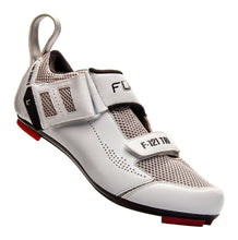 Load image into Gallery viewer, FLR F-121- Triathlon Bike Cycling Shoes - White