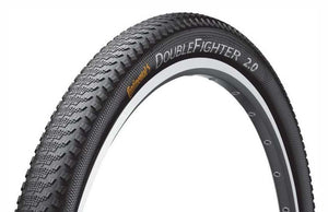 Continental Double Fighter III - Mountain Bike Tyre Rigid