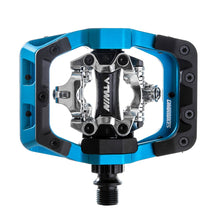 Load image into Gallery viewer, DMR V-Twin Clipless MTB Pedals - Blue
