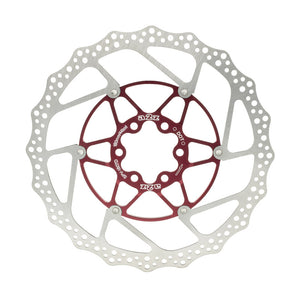 A2Z Teppan Yaki SP5 Mountain Bike Floating Disc Brake Rotor - 180mm - Red
