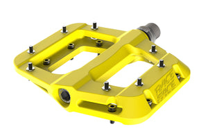 Race Face Chester Composite Flat Platform Pedals - Yellow