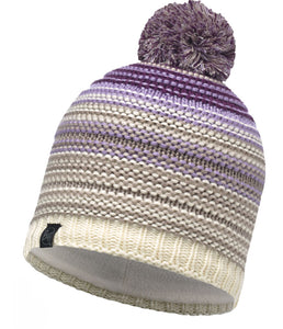 Buff - Neper - Knitted & Polar Hat - Violet Cru