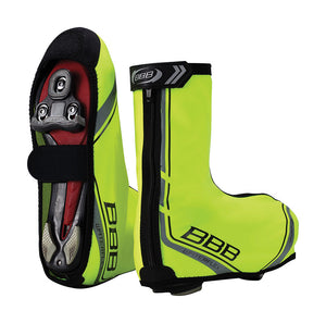 BBB WaterFlex MTB / Road Bike Overshoes BWS03 Neon Yellow