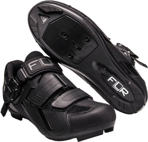 FLR F-15.III Race - Road Bike Cycling Shoes - Shimano & Look Compatible - Matt Black