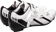 Load image into Gallery viewer, FLR F-15.III Race - Road Bike Cycling Shoes - Shimano & Look Compatible - Matt White / Black