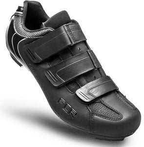 FLR F-35.III - Road Bike Cycling Shoes - Shimano & Look Compatible - Matt Black