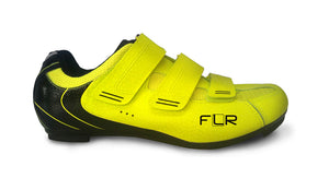 FLR F-35.III - Road Bike Cycling Shoes - Shimano & Look Compatible - Neon Yellow