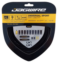 Load image into Gallery viewer, Jagwire Universal Sport Shift - Gear - Cable Set  - Black