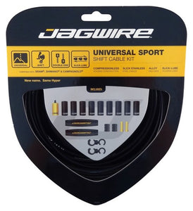 Jagwire Universal Sport Shift - Gear - Cable Set  - Black
