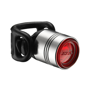 Lezyne Femto Drive LED Rear Light - Silver