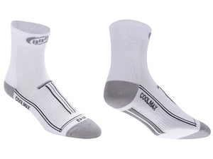 BBB TechnoFeet Long Cycling / Bike Socks BSO-02 - White
