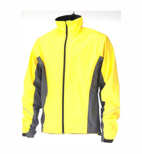 Load image into Gallery viewer, Avenir Force Waterproof Bike Cycling Jacket - Yellow