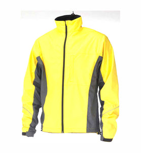Avenir Force Waterproof Bike Cycling Jacket - Yellow
