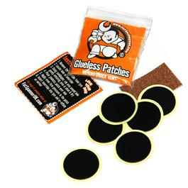 Fat Spanner Glueless Bike Puncture Repair Patches Pack 6