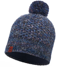 Load image into Gallery viewer, Buff - Margo - Knitted & Polar Hat - Blue / Navy