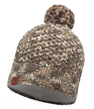 Load image into Gallery viewer, Buff - Margo - Knitted & Polar Hat - Brown Taupe / Grey